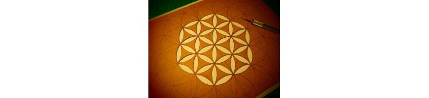 Fleur de vie, métatron, sceau de Salomon...