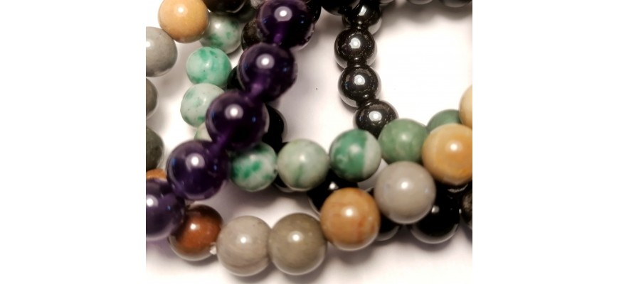 Bracelets perles 8 mm