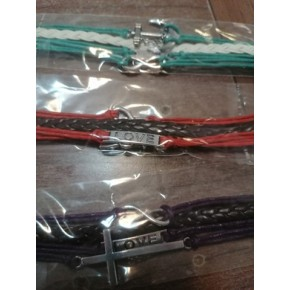 Bracelet multi-rangs -...