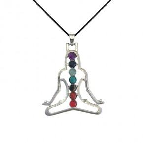Pendentif 7 chakras - Yoga