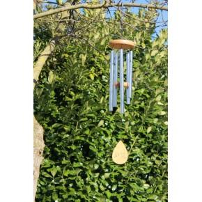 Carillon à vent Lotus - 81 cm