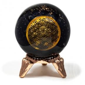 Sphère d'orgonite...
