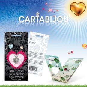 Cartabijou avec un coeur