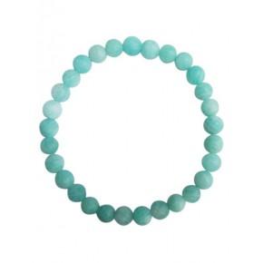 Bracelet 6 mm - Amazonite -...