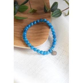 Bracelet 6 mm - Apatite -...