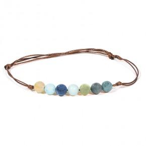 Bracelet 6 mm - Amazonite...