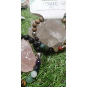 Bracelet 7 Chakras - Bouddha