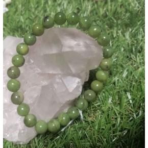 Bracelet 8 mm - Jade Nephrite