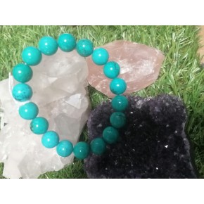 Bracelet 10 mm - Turquoise...