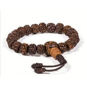 Bracelet mala - Rudraksha -...