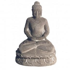 Statuette grès - Bouddha-...