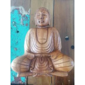 Statuette Bois - Bouddha...