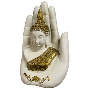 Statue Main de Bouddha - Or...