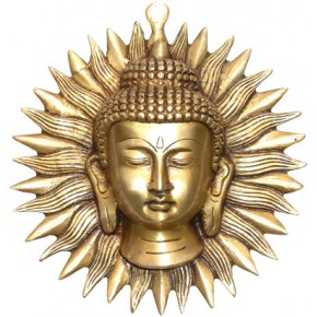 Bouddha soleil mural en...
