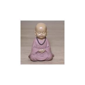 Statuette moine bouddhiste...