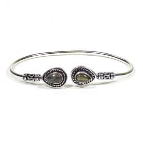 Bracelet laiton - Cabochons...