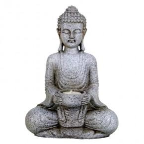 Statuette bougeoir Bouddha...