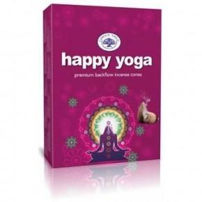Encens cônes - Happy Yoga -...
