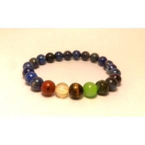 Bracelet 8 mm - Chakras /...