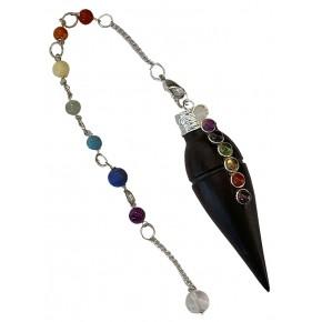 Pendule cône - 7 Chakras -...