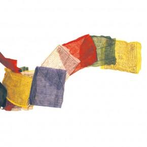 Drapeau de prière tibétain...