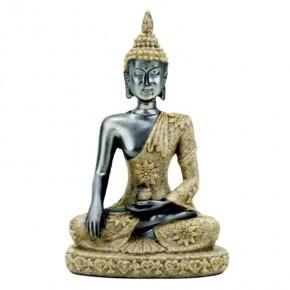 Bouddha pm Résine et sable