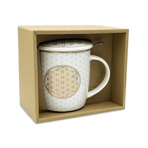 Mug infuseur à thé