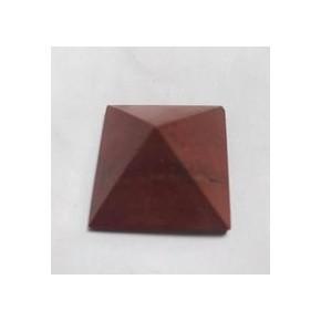 Pyramide Jaspe rouge - 2x2cm
