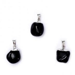 Pendentif Obsidienne noire...
