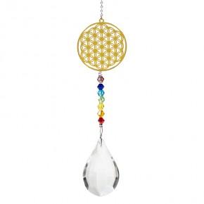 Boule Feng Shui - Fleur de...