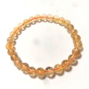 Bracelet 8 mm - Citrine...