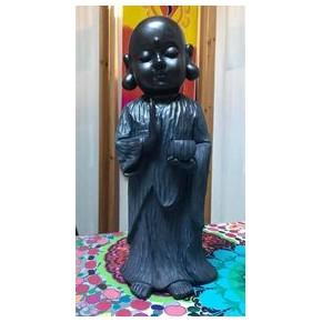 Bouddha noir et bleu...