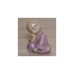Statuette moine bouddhiste
