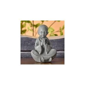 Statuette Bonze - gris - 12 cm