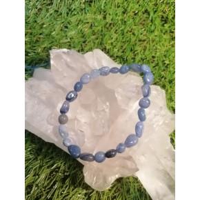 Bracelet baroque - Quartz bleu