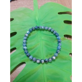 Bracelet 6 mm - Cyanite