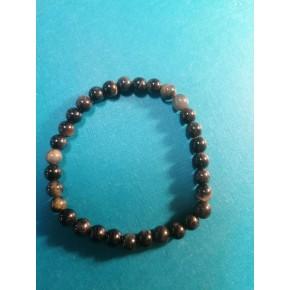 Bracelet 6 mm - Oeil de Faucon