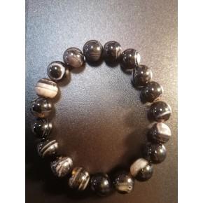 Bracelet 10 mm - Agate...